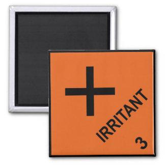 Irritant Square Magnet