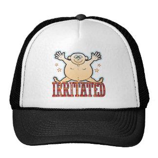 Irritated Fat Man Cap