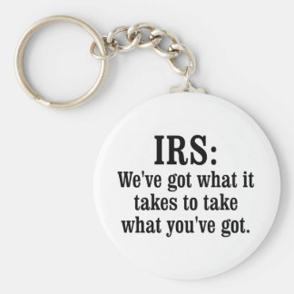 IRS BASIC ROUND BUTTON KEY RING