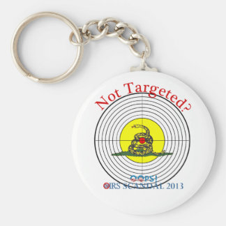 IRS Scandal 2013 Target Keychain