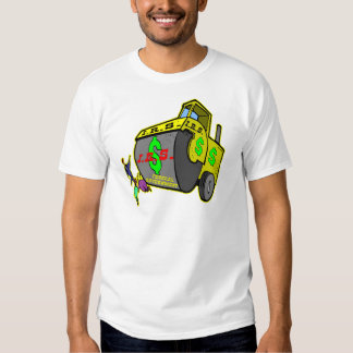 IRS Steam Rolling Over Americans Tee Shirt