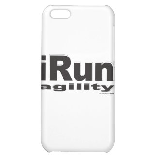 iRun Black and White iPhone 5C Cover