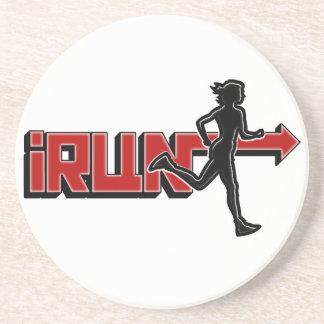 iRUN I RUN (GIRL) COASTERS