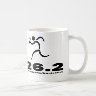 IRunToDrink 26.2 Coffee Mug
