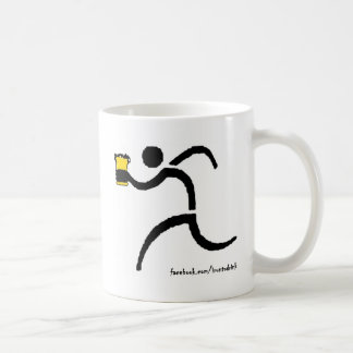 IRunToDrink White Coffee Mug