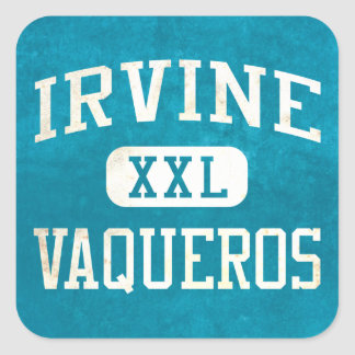 Irvine Vaqueros Athletics Square Sticker
