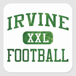 Irvine Vaqueros Football Square Sticker