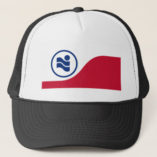 Irving, Texas, United States flag Trucker Hat