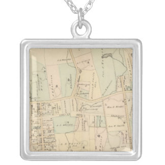 Irvington, New York 2 Silver Plated Necklace