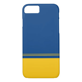 Irwin Blue and Yellow Color Scheme iPhone 7 Case