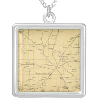 Irwin Township Silver Plated Necklace