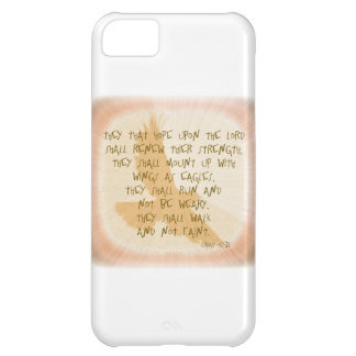 Is. 40 They that hope upon the Lord... iPhone 5C Cases