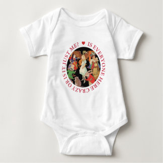 Is Everyone Here Crazy Or Is It Just Me? Baby Bodysuit