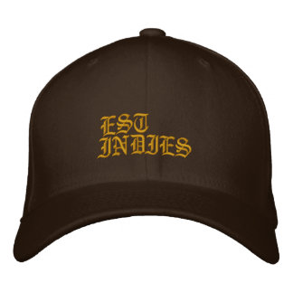 IS, INDIES EMBROIDERED BASEBALL CAP