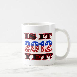 Is it 2012 Yet Basic White Mug