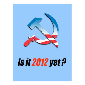Is it 2012 yet post card
