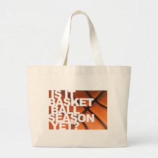 Is It Basketball Season Yet Tote Bags
