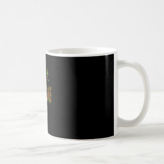 Is It Dead Time Yet? - Black Background Coffee Mugs