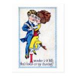 Is it me? Or my dancing? Vintage Post Cards