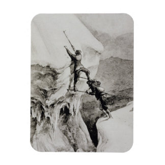 Is it Possible?, from 'Scrambles Amongst the Alps' Rectangular Photo Magnet