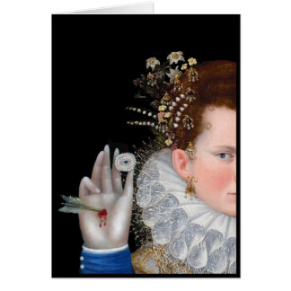 Is That My Eye You Are Holding, a digital collage Card