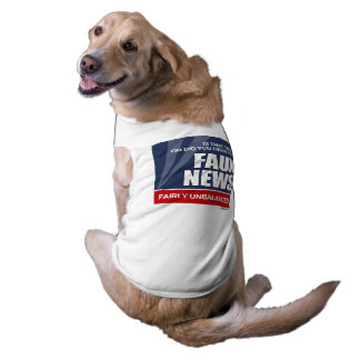 Is that true or did you hear it on Faux News Sleeveless Dog Shirt
