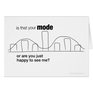 Is That Your Mode for Members Card