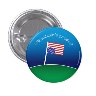 Is This Land Made for You and Me? 3 Cm Round Badge