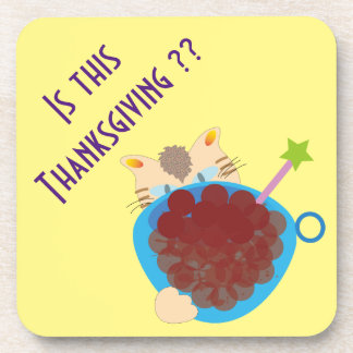Is this Thanksgiving?? Coaster