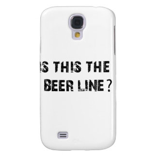 Is This The Beer Line Galaxy S4 Cover