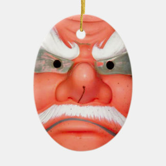 Is this the face of Santa? Christmas Ornament