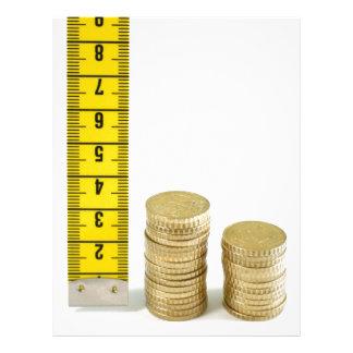Is your money growing flyer design