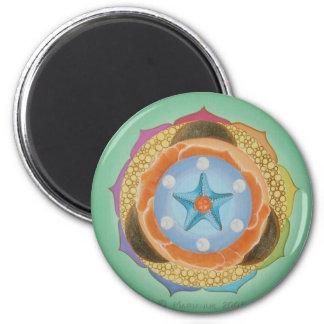 Isa 6 Cm Round Magnet