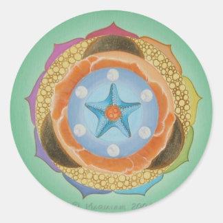 Isa Round Sticker