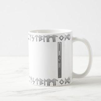 Isa Rune grey Coffee Mug