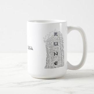 Isa rune mug