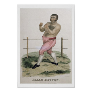 Isaac Bitton, engraved by P. Roberts, published 18 Poster