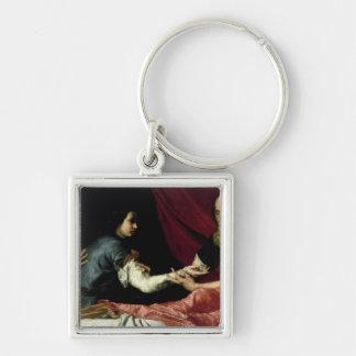 Isaac Blessing Jacob, 1637 Key Ring