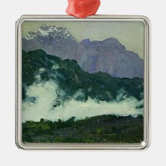 Isaac Levitan- Alps Christmas Ornaments
