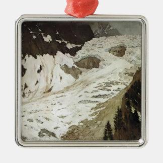 Isaac Levitan- Alps. Snow. Christmas Ornaments