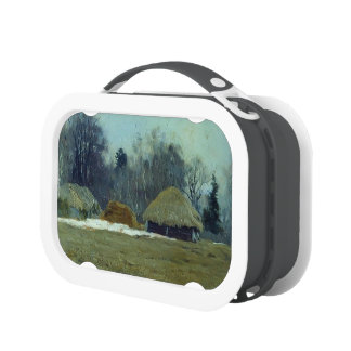 Isaac Levitan- Early spring Yubo Lunchboxes