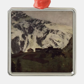 Isaac Levitan- In Alps Ornament