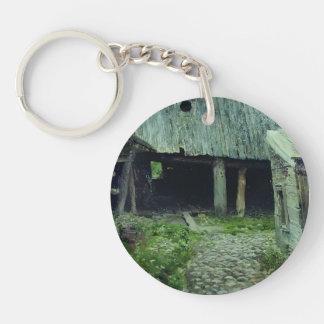 Isaac Levitan- Old yard. Plyos. Key Chains