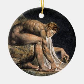Isaac Newton Christmas Ornament