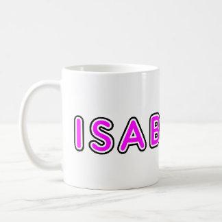 isabella basic white mug