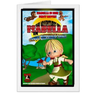 Isabella Birthday Card DVD box spoof