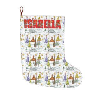 Isabella Christmas Holiday Stocking