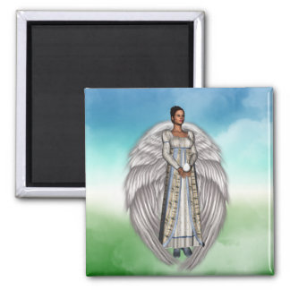 Isabella in the Clouds Square Magnet
