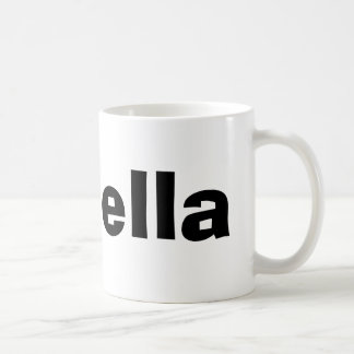 Isabella Basic White Mug