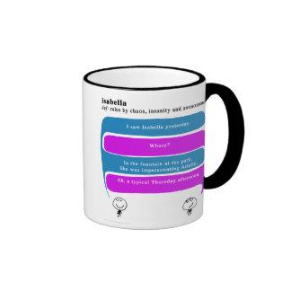 isabella coffee mugs